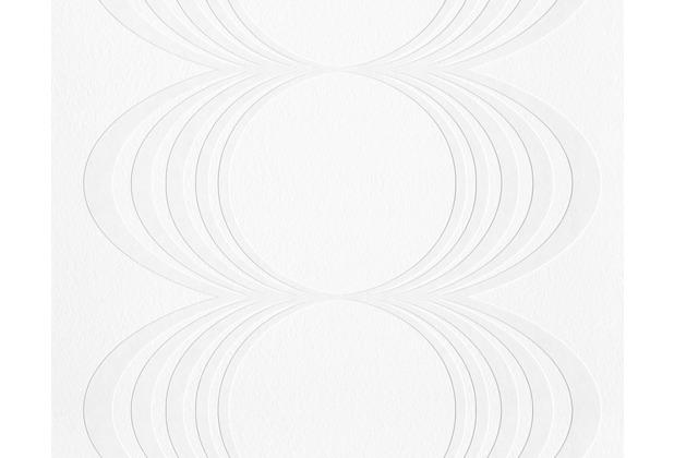 Architects Paper überstreichbare Vliestapete Pigment Classic, weiß 932013 10,05 m x 0,53 m