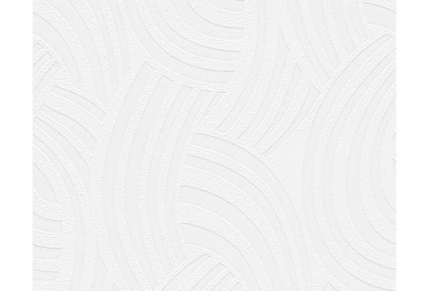 Architects Paper überstreichbare Vliestapete Pigment Classic, weiß 952521 10,05 m x 0,53 m