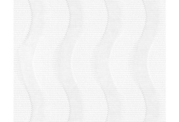 Architects Paper überstreichbare Vliestapete Pigment Classic, weiß 953351 10,05 m x 0,53 m