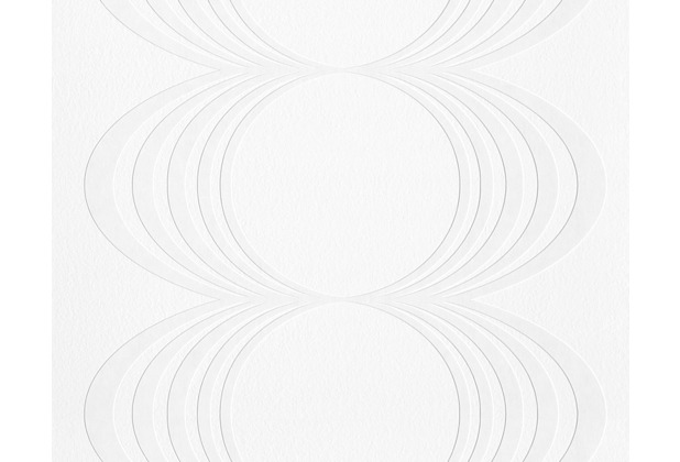 Architects Paper überstreichbare Vliestapete Pigment Classic, weiß 958914 10,05 m x 0,53 m