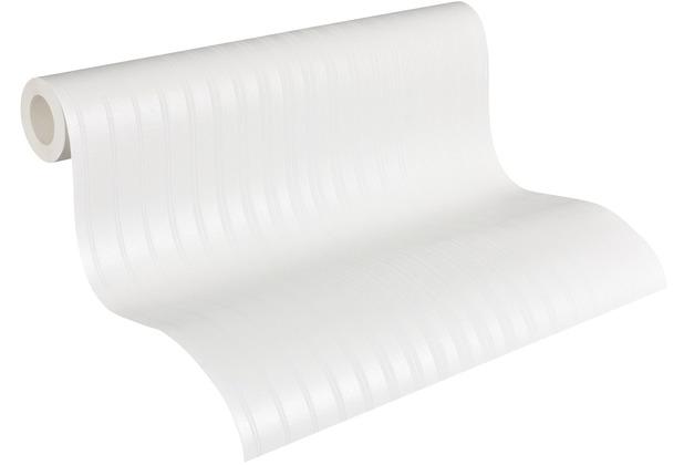 Architects Paper Vliestapete Meistervlies Streifentapete überstreichbar weiß 951113 10,05 m x 0,53 m