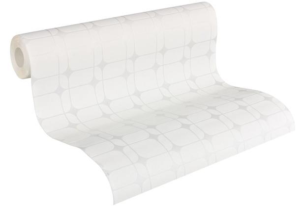 Architects Paper Vliestapete Meistervlies geometrische Tapete überstreichbar weiß 951371 10,05 m x 0,53 m