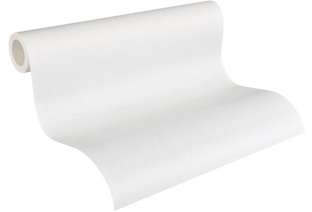 Architects Paper Vliestapete Meistervlies Strukturtapete überstreichbar weiß 953451 10,05 m x 0,53 m