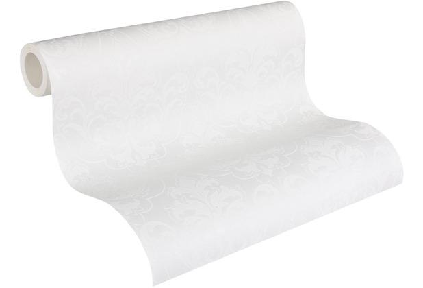 Architects Paper Vliestapete Meistervlies Barocktapete überstreichbar weiß 961815 10,05 m x 0,53 m