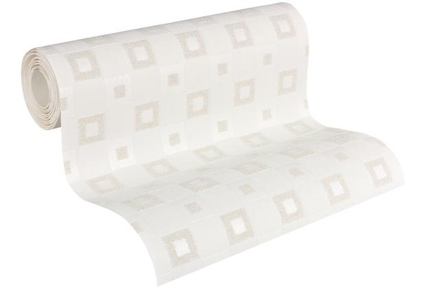 Architects Paper Vliestapete Meistervlies geometrische Tapete überstreichbar weiß 952417 10,05 m x 0,53 m
