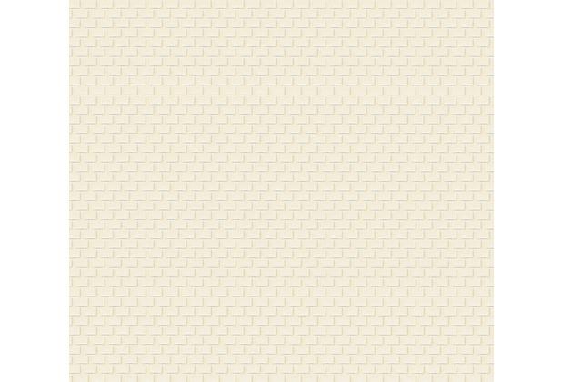 Architects Paper Uni-, Strukturtapete Luxury wallpaper Tapete beige creme metallic 319082 10,05 m x 0,53 m