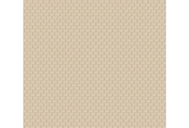Architects Paper Uni-, Strukturtapete Luxury wallpaper Tapete beige metallic 319085 10,05 m x 0,53 m