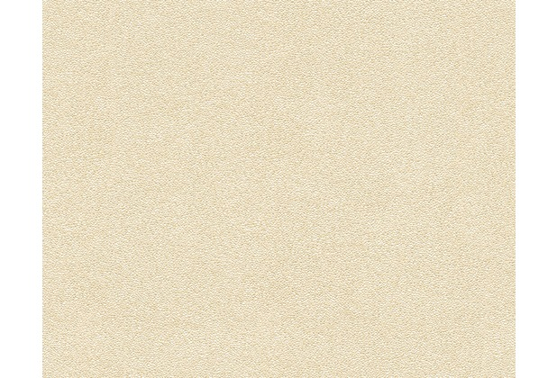 Architects Paper Uni-, Strukturtapete Nobile, Tapete, gelb, metallic 959822 10,05 m x 0,70 m