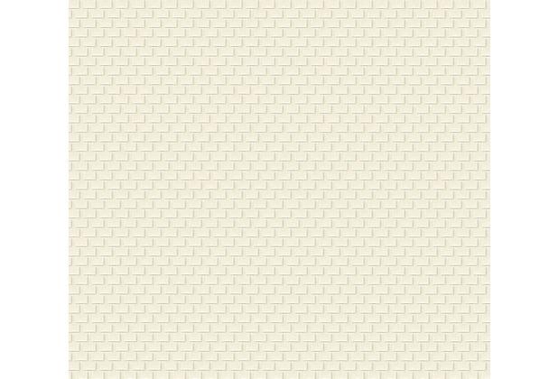Architects Paper Unitapete Luxury wallpaper Tapete grau metallic weiß 319081 10,05 m x 0,53 m
