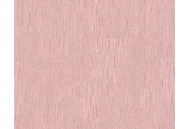 Architects Paper Unitapete Metallic Silk Textiltapete rosa 306835 10,05 m x 0,53 m