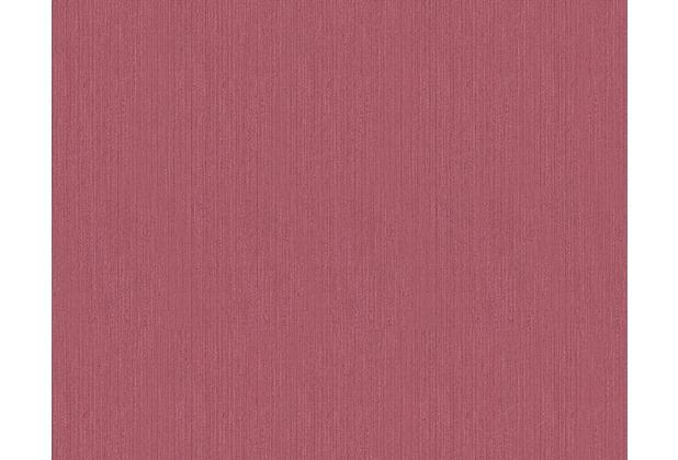 Architects Paper Unitapete Metallic Silk Textiltapete rot 306836 10,05 m x 0,53 m