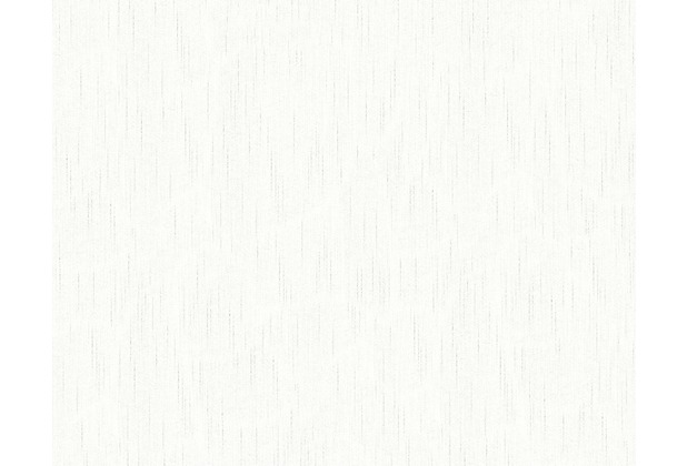 Architects Paper Unitapete Metallic Silk Textiltapete weiß 309073 10,05 m x 0,53 m