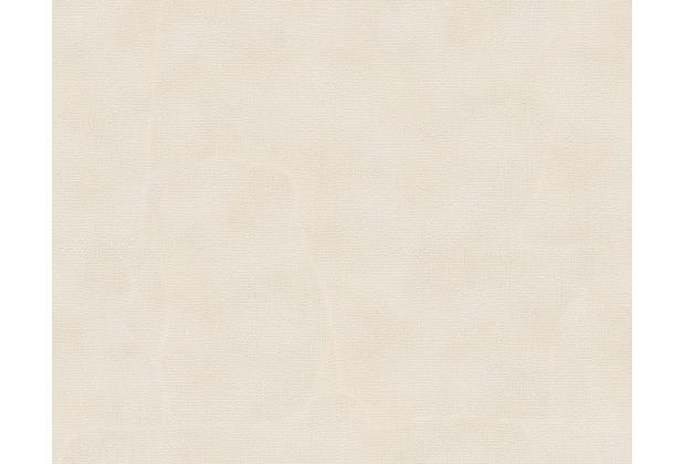 Architects Paper Unitapete Nobile, Tapete, creme, metallic, weiß 958933 10,05 m x 0,70 m