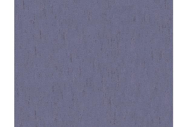 Architects Paper Unitapete Piazza, Vliestapete, blau, metallic 961027