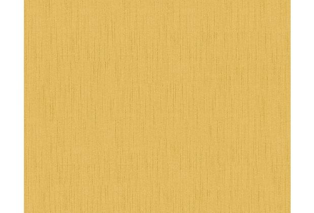 Architects Paper Unitapete Tessuto 2, Textiltapete, gelb, weiß 968586