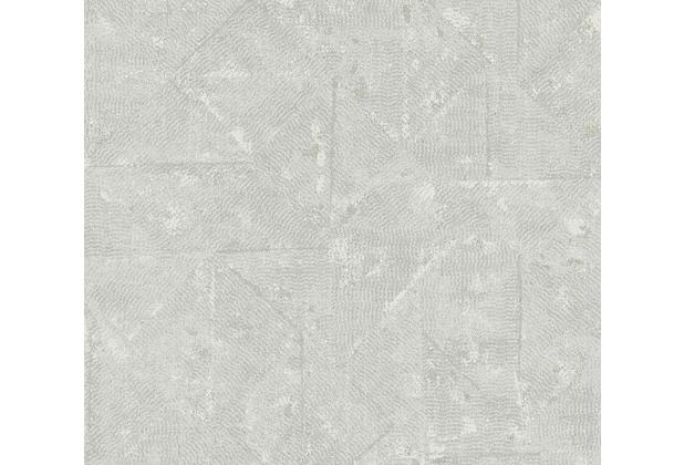 Architects Paper Vliestapete Absolutely Chic Tapete im Ethno Look metallic grau 369747 10,05 m x 0,53 m