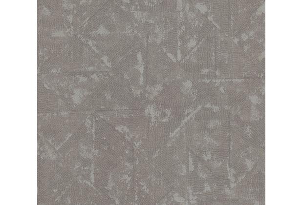 Architects Paper Vliestapete Absolutely Chic Tapete im Ethno Look metallic grau 369749 10,05 m x 0,53 m