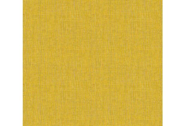 Architects Paper Vliestapete Absolutely Chic Tapete in Textil Optik gelb grau braun 369762 10,05 m x 0,53 m