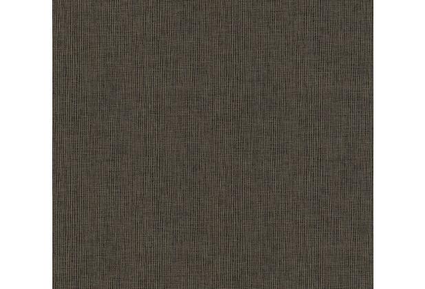Architects Paper Vliestapete Absolutely Chic Tapete in Textil Optik metallic schwarz braun 369768 10,05 m x 0,53 m