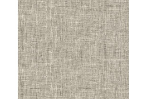 Architects Paper Vliestapete Absolutely Chic Tapete in Textil Optik metallic schwarz grau 369767 10,05 m x 0,53 m