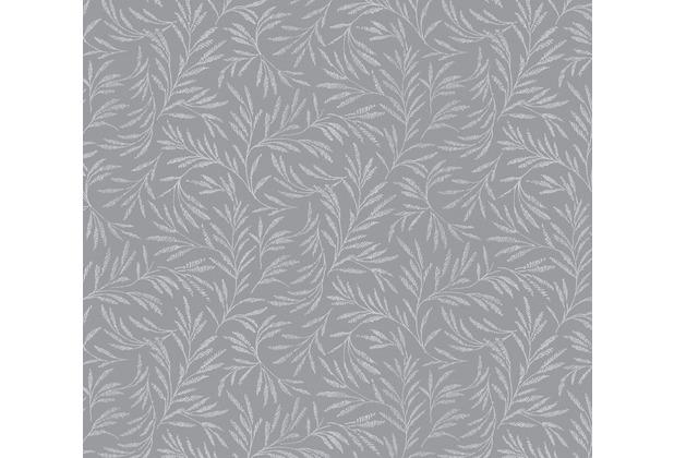 Architects Paper Vliestapete Alpha Tapete floral grau metallic 333264 10,05 m x 0,53 m