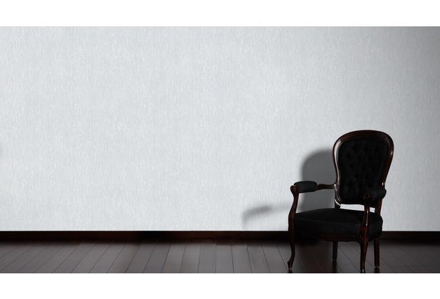 Architects Paper Vliestapete Alpha Tapete gestreift grau metallic 333282 10,05 m x 0,53 m