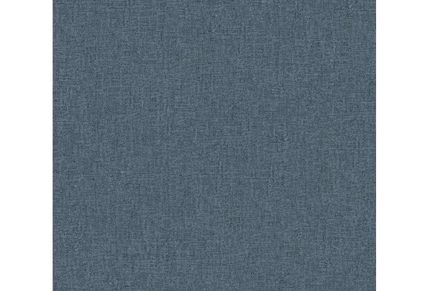 Architects Paper Vliestapete Alpha Tapete Uni blau 333744 10,05 m x 0,53 m