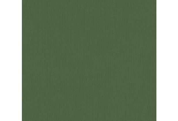 Architects Paper Vliestapete Alpha Tapete Uni grün 333703 10,05 m x 0,53 m