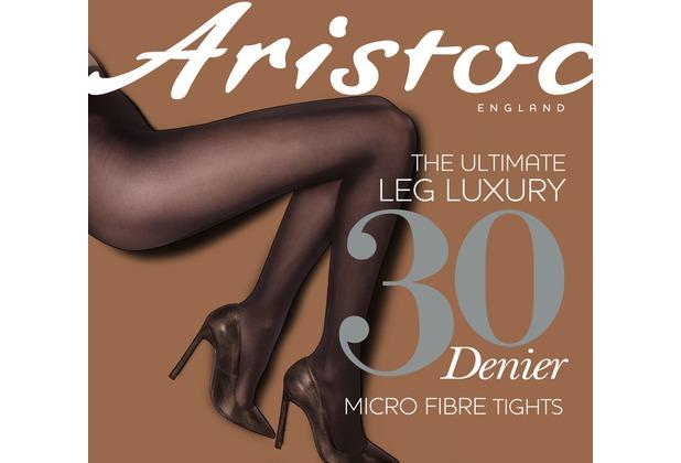 Aristoc Leg Luxury 30D Opaque Tights Navy SM
