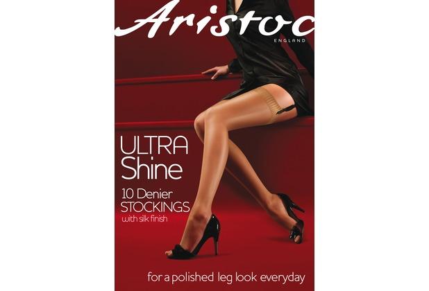 Aristoc Ultra 10D Shine Stockings Vaguely Black ML