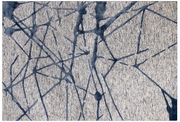 Arte Espina Teppich Damast 200 Grau 120 x 180 cm