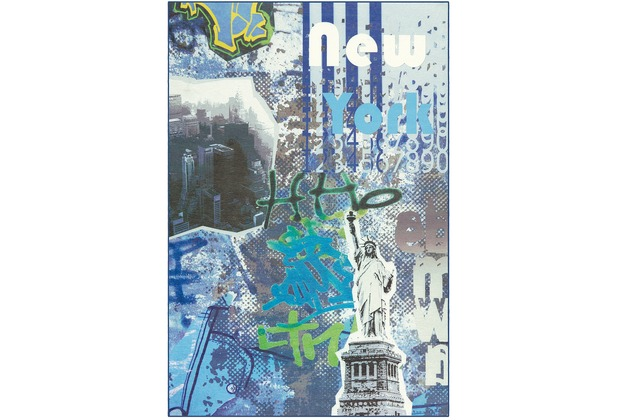 Arte Espina Teppich Flash 2703 Blau 120 x 170 cm