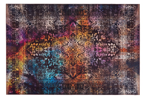 Arte Espina Teppich Galaxy 400 Multi / Braun 120 x 180 cm
