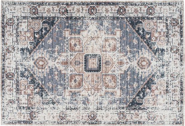 Arte Espina Teppich Indiana 100 Grau / Braun 120 x 170 cm