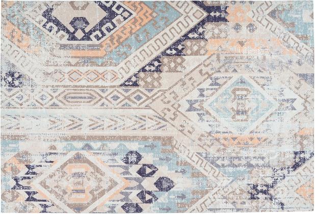 Arte Espina Teppich Indiana 200 Multi / Blau 120 x 170 cm