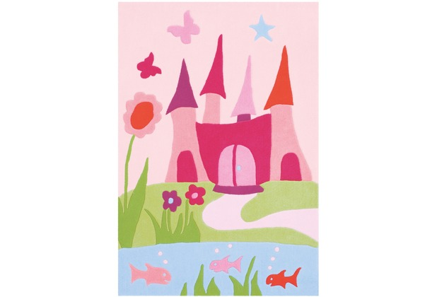 Arte Espina Kinderteppich Joy 4052 Rosa 110 x 160 cm