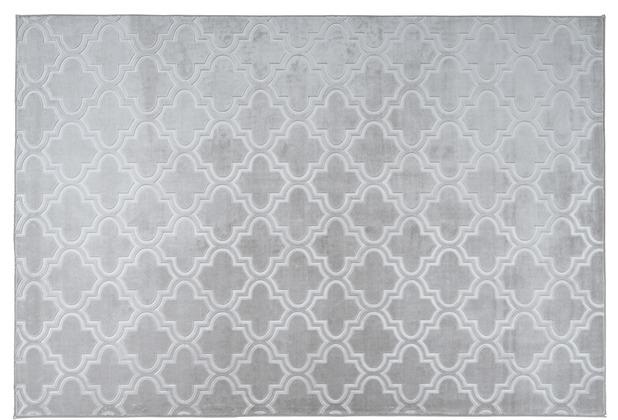 Arte Espina Teppich Monroe 100 Grau / Blau 120 x 170 cm