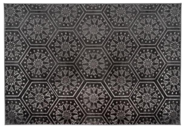 Arte Espina Teppich Monroe 200 Anthrazit 120 x 170 cm