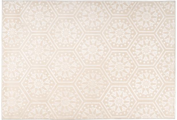 Arte Espina Teppich Monroe 200 Creme 120 x 170 cm