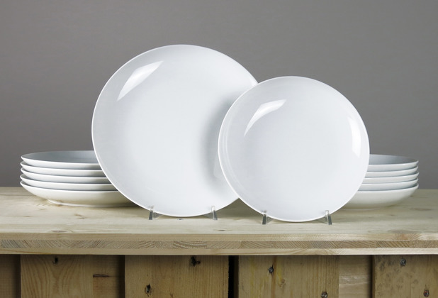Arzberg Cucina-Basic ROK weiss Tafelset 12-tlg. für 6 Personen