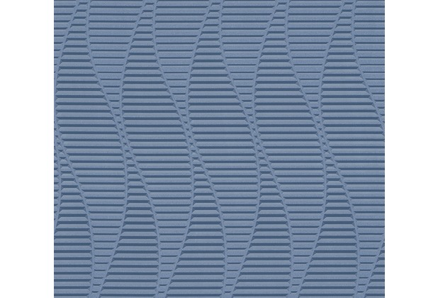 AS Création 3D Mustertapete Simply Decor Tapete blau metallic 329823 10,05 m x 0,53 m