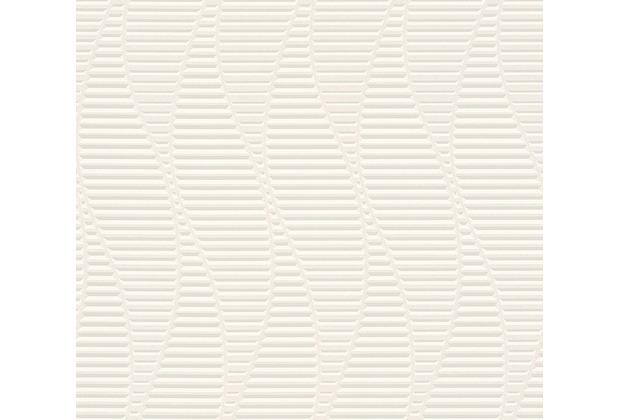 AS Création 3D Mustertapete Simply Decor Tapete grau metallic weiß 329821 10,05 m x 0,53 m
