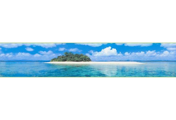 AS Création selbstklebende Bordüre Only Borders 9 blau grün 903211 5,00 m x 0,10 m
