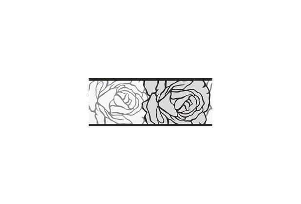 AS Création selbstklebende Bordüre Only Borders 9 grau schwarz weiß 5,00 m x 0,05 m
