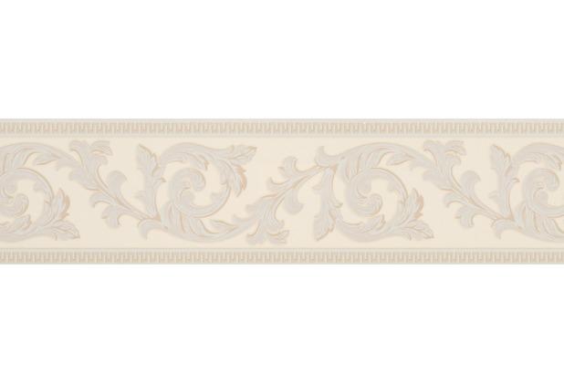 AS Création selbstklebende Bordüre Only Borders 9 beige creme 906212 5,00 m x 0,13 m