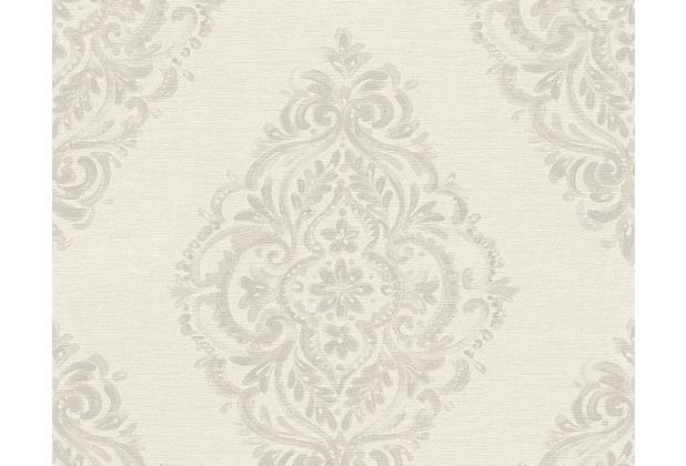 AS Création barocke Mustertapete Around the world Tapete beige grau 306953 10,05 m x 0,53 m