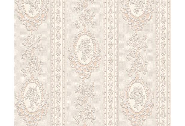 AS Création barocke Mustertapete Belle Epoque Strukturprofiltapete beige creme metallic 186133 10,05 m x 0,53 m
