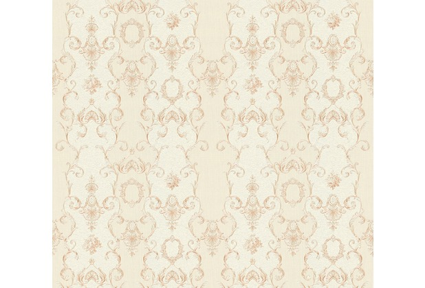 AS Création barocke Mustertapete Château 5 Vliestapete beige creme metallic 343924 10,05 m x 0,53 m