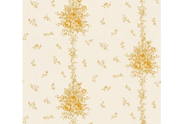 AS Création barocke Mustertapete Château 5 Vliestapete beige creme metallic 345003 10,05 m x 0,53 m