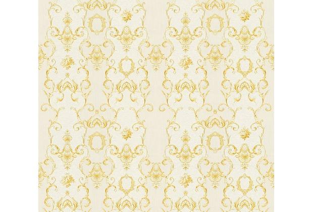 AS Création barocke Mustertapete Château 5 Vliestapete creme metallic 343921 10,05 m x 0,53 m